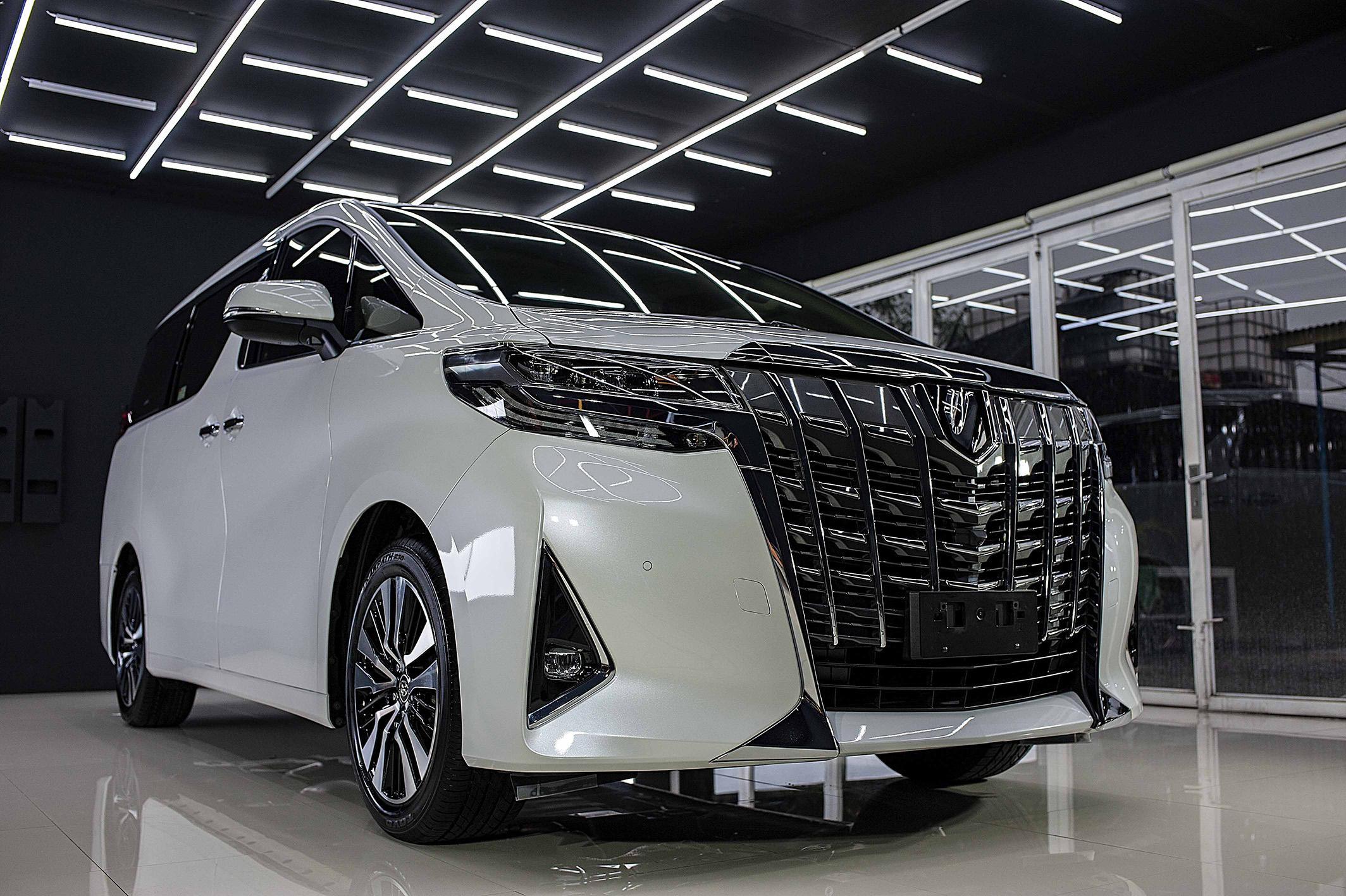 Toyota Alphard Platinum Coating Package