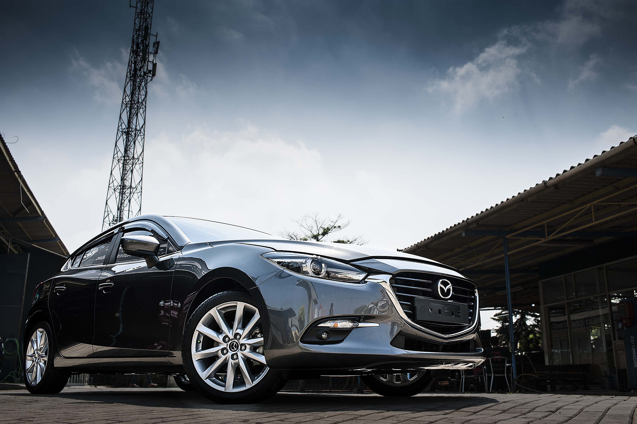 Mazda 3 with our Premium Coating Package