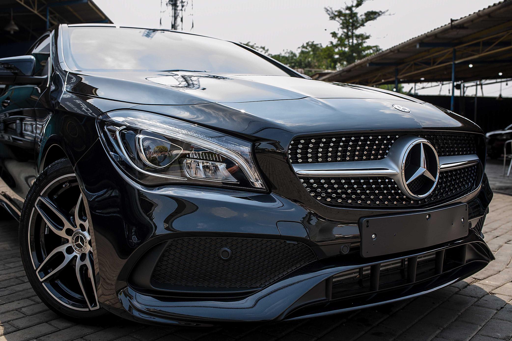 Mercedes CLA 200 for Cquartz Finest Ceramic Coating