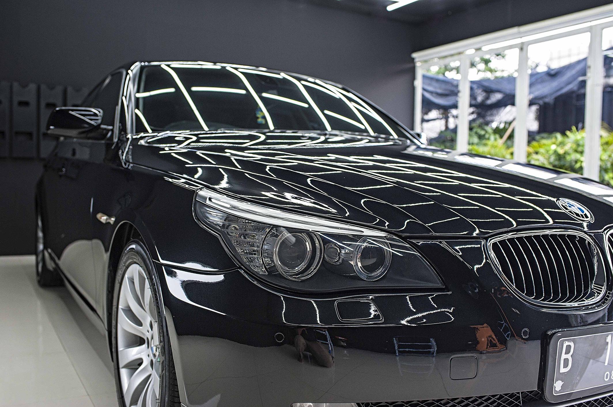 BMW 523i for Cquartz Finest Ceramic Coating