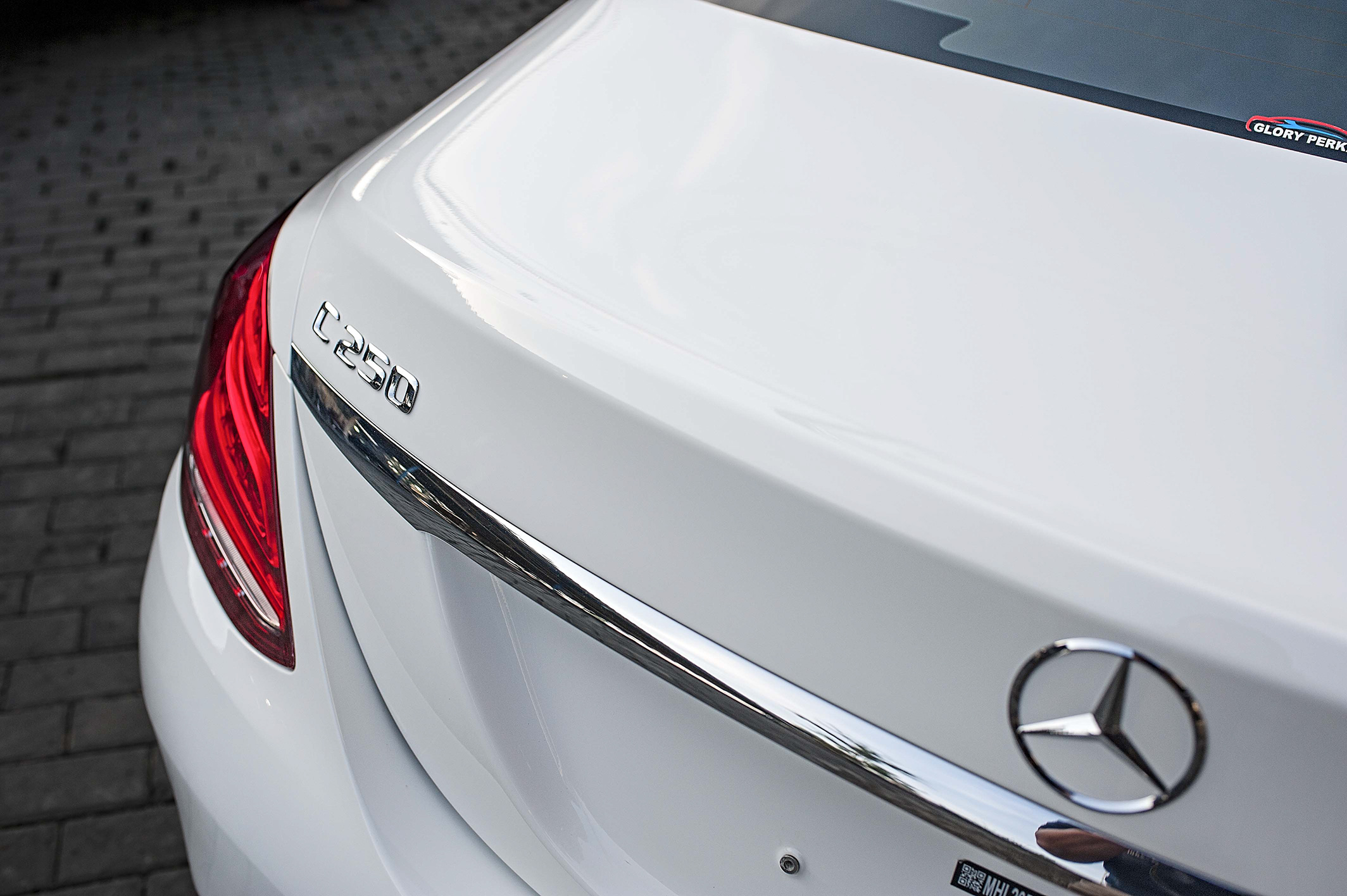 Mercedes C250 for triple layers Ceramic Coating